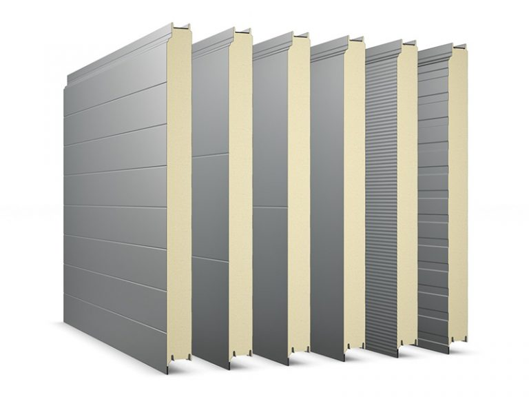 PIR Sandwich Panel Topway Steel 3D Wall 800