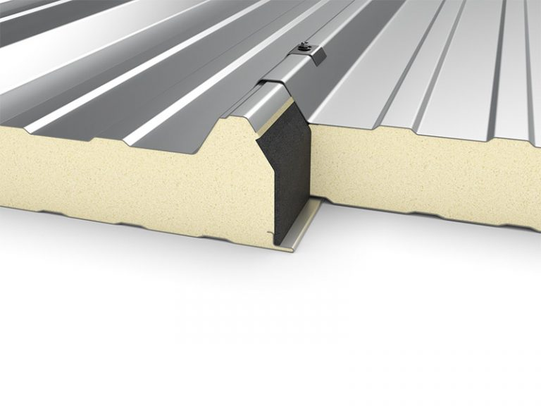 PUR Insulated Panel Topway Steel 3D Roof Joint 800