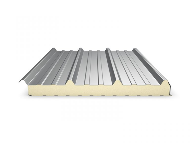 PUR Insulated Panel Topway Steel 3D Roof Panel 800