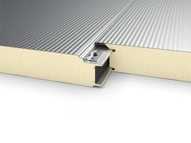 PUR Sandwich Panel Topway Steel 3D Wall Joint 800